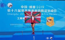 «Volvemos orgullosos por las medallas y por ondear la ikurriña en China»