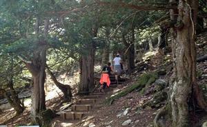 Rescatado un montañero de Arrasate que se rompió una pierna en Palencia