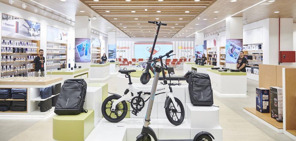 AliExpress abre en España su primera tienda física de Europa