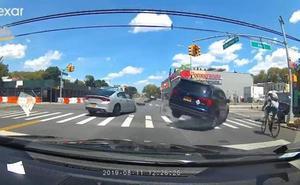 El conductor que causó el atropello del getxotarra en Nueva York iba a 99 km/h en una vía de 40