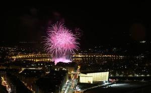 El Jurado Popular del Concurso de Fuegos de San Sebastián premia a la pirotecnia Hermanos Caballer