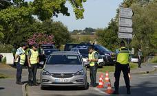 Controles y policías ante la cumbre del G-7