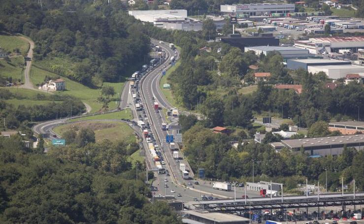 Tranquilidad en las carreteras en la víspera de la cumbre del G-7