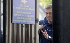 El principal opositor ruso, de nuevo en libertad