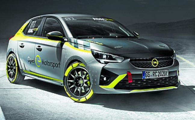 Opel, primer fabricante en ofrecer un turismo 100% eléctrico para rallies