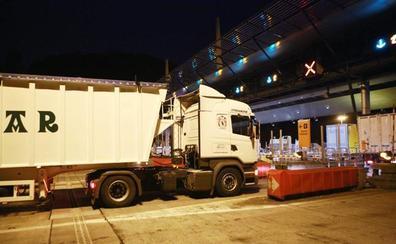 Las restricciones al tráfico de camiones en Gipuzkoa se relajarán por unas horas