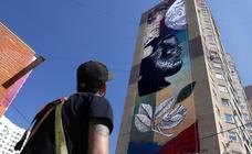 Los murales más vistosos en Odintsovo
