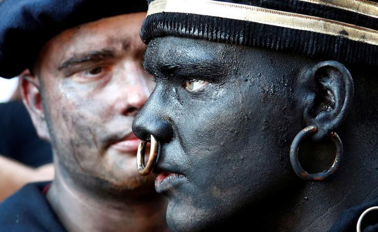 El polémico 'blackface' belga