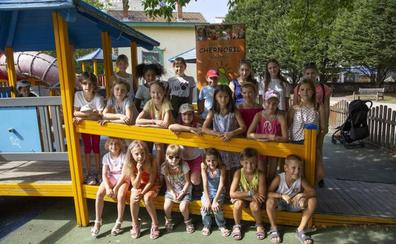 Los niños ucranianos que han pasado el verano en Euskadi regresan a su hogar