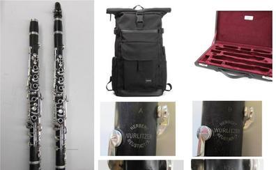 La Quincena Musical denuncia el robo de dos clarinetes de la orquesta de Bremen