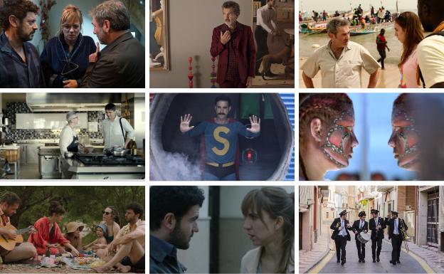 Dieciséis películas formarán la panorámica del año de Made in Spain