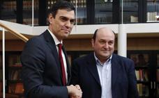 El PSOE anuncia que Sánchez se reunirá con Ortuzar el miércoles en Bilbao