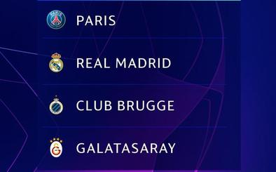 El PSG, única amenaza para el Real Madrid en un sorteo benévolo