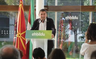 Otegi apuesta por impulsar la soberanía a través de alianzas «o ensanchar EH Bildu»