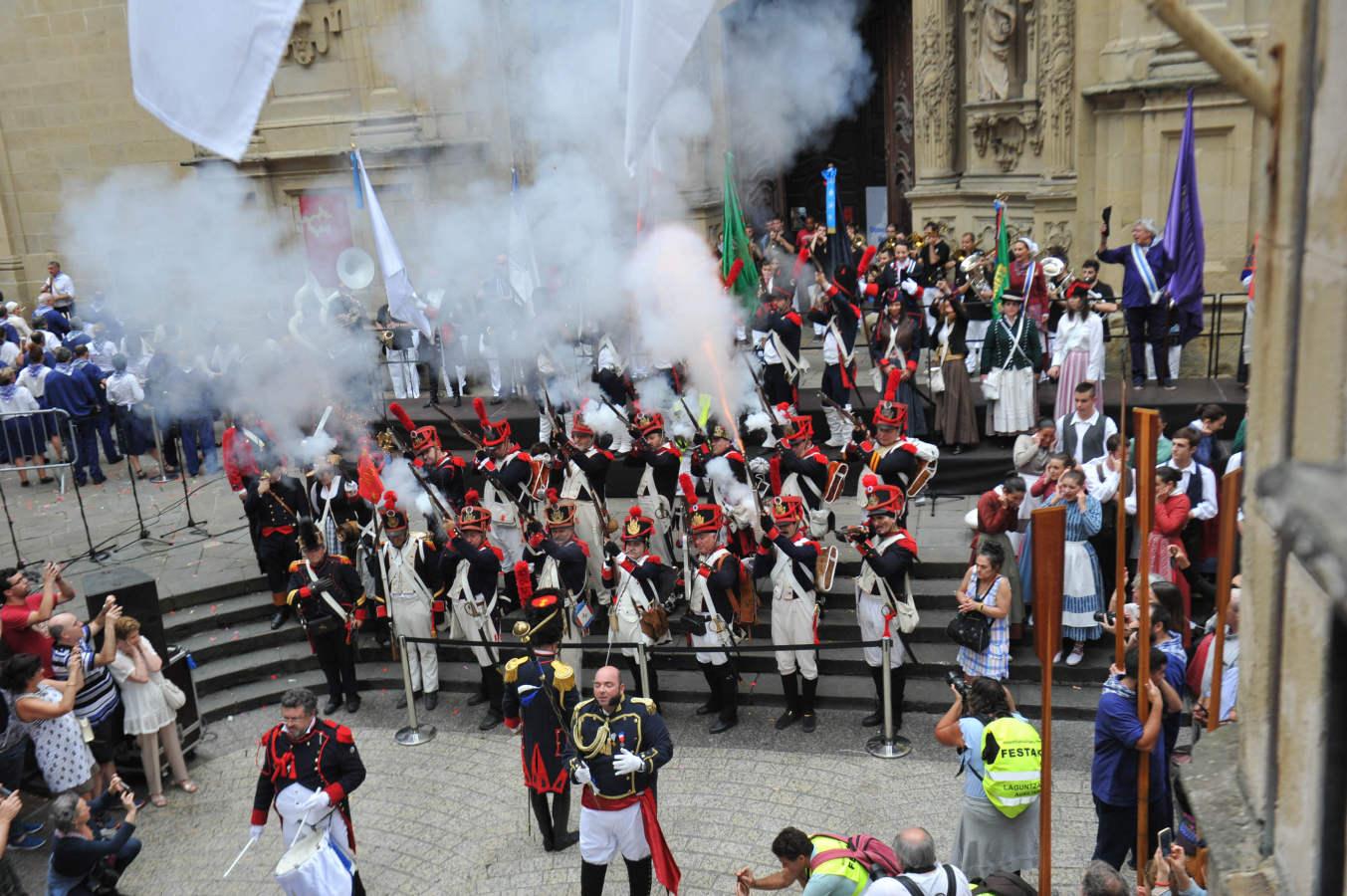 Donostia revive el 31 de agosto de 1813