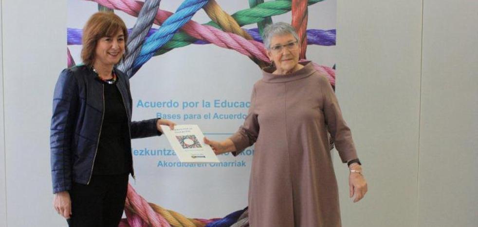 El Gobierno también tiene deberes este curso: aprobar la ley vasca de Educación