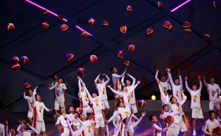 Ceremonia de apertura del Mundial de baloncesto