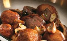 Receta de hongos y gorringos al horno de Martín Berasategui