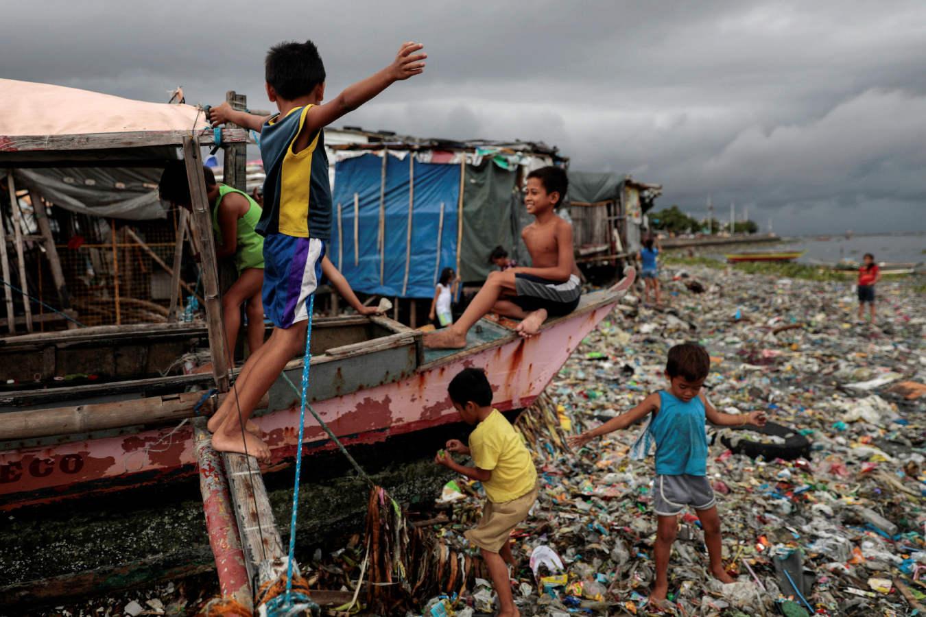 El plástico, la amenaza de Manila