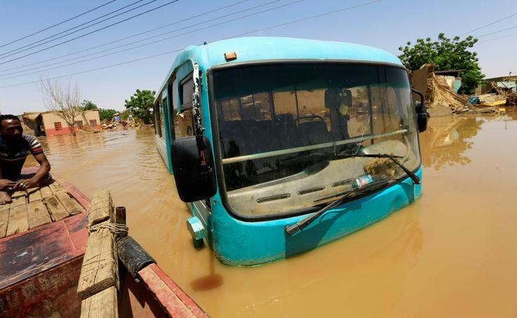 Bajo el agua del Nilo