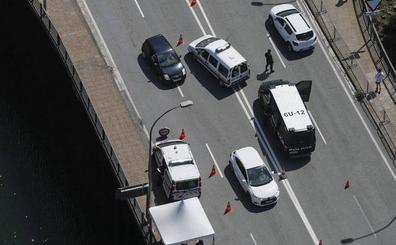 El tráfico desciende en Euskadi en verano por el efecto del G-7