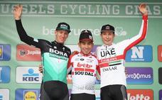 Caleb Ewan, el mejor de los velocistas en Bélgica