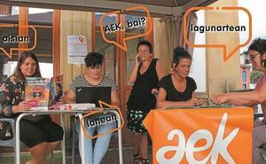 AEK de Azkoitia comienzan el curso con una fiesta por su 11 aniversario