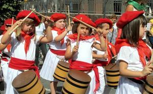 Día grande en el final de las fiestas de Beraun