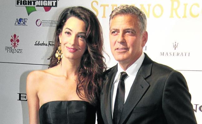 Los Clooney gastan dos millones al mes en seguridad