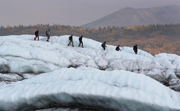 Ruta por los glaciares de Alaska