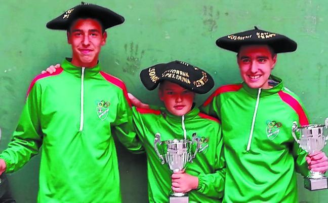 Martín, Alegría y Apaolaza se hacen con las txapelas del Torneo Euskal Jaiak de Donostia