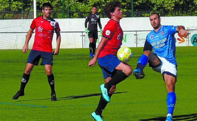 El Baztan acusó las ausencias ante el Valle de Egüés, contra el que perdió 1-4