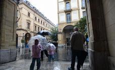 La lluvia, protagonista este martes