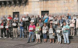 Los pensionistas retomaron ayer sus movilizaciones reivindicativas
