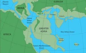 Hallan los restos de un continente perdido, enterrados bajo el sur de Europa