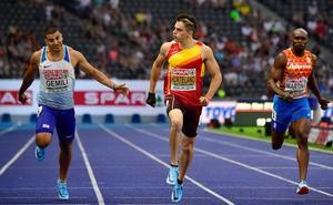 Bruno Hortelano no competirá en el Mundial de Doha