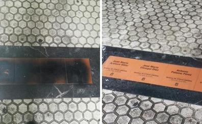 El Foro Social condena el ataque a las placas en Donostia que recuerdan a las víctimas