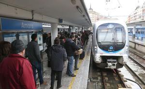 El tren mueve en Gipuzkoa cada día a más de 56.000 viajeros