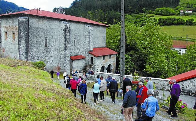 Visita al convento de Sasiola
