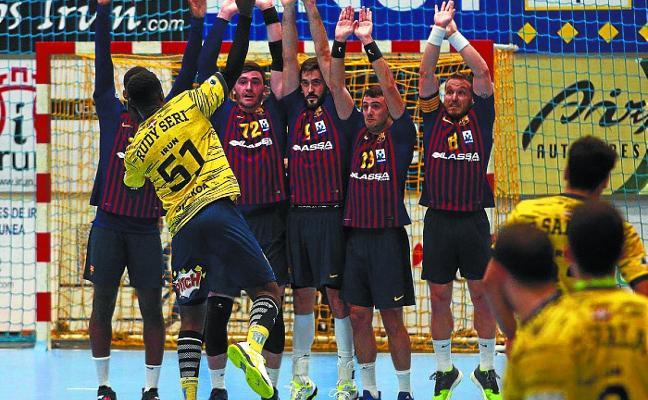 El Bidasoa-Irun mirará al Barça a los ojos