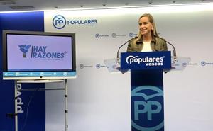 El PP vasco defenderá un perfil propio en su convención y aleja la opción de 'Euskadi Suma'