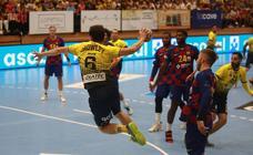 El Bidasoa cae ante el Barcelona (23-26)