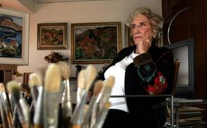«Todos los caminos del estudio de Menchu Gal conducen a la Roma de la pasión por el color»