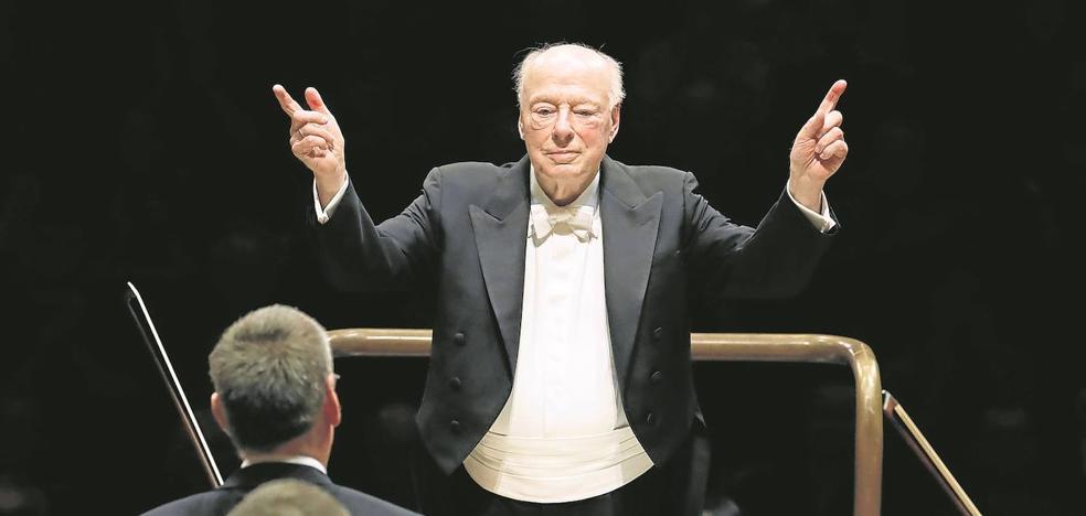 Bernard Haitink, mito de la dirección orquestal, dice adiós a los escenarios