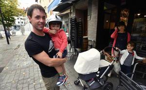 Jokin estrena las 18 semanas de paternidad