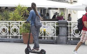 Las policías locales apenas registran un incidente con patinete eléctrico al mes