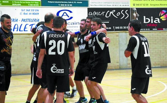 El Erreka, campeón de la Supercopa de Navarra