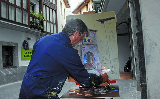 El sábado se celebrará la 50 edición del concurso de pintura al aire libre de Deba