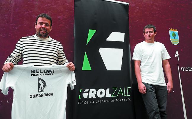 El Beloki recupera la escuela de pelota de la mano de Kirolzale