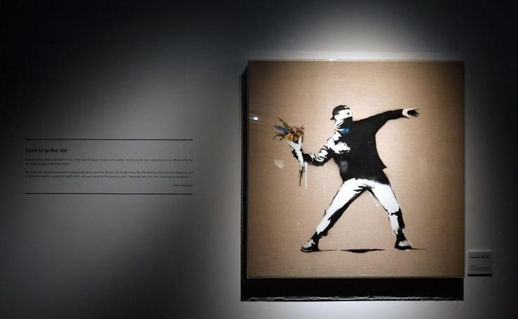 La exposición no autorizada de Banksy